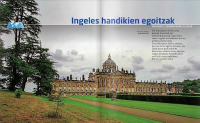 Mansiones inglesas en ZAZPI HAIZETARA