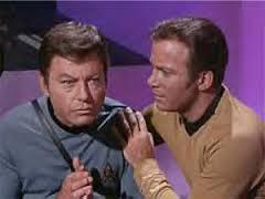 Kirk and Bones
