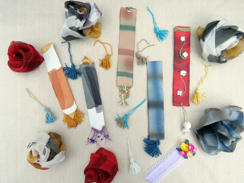 Κατασκευάζουμε σελιδοδείκτες από μετάξι στο Μουσείο Μετάξης Σουφλίου