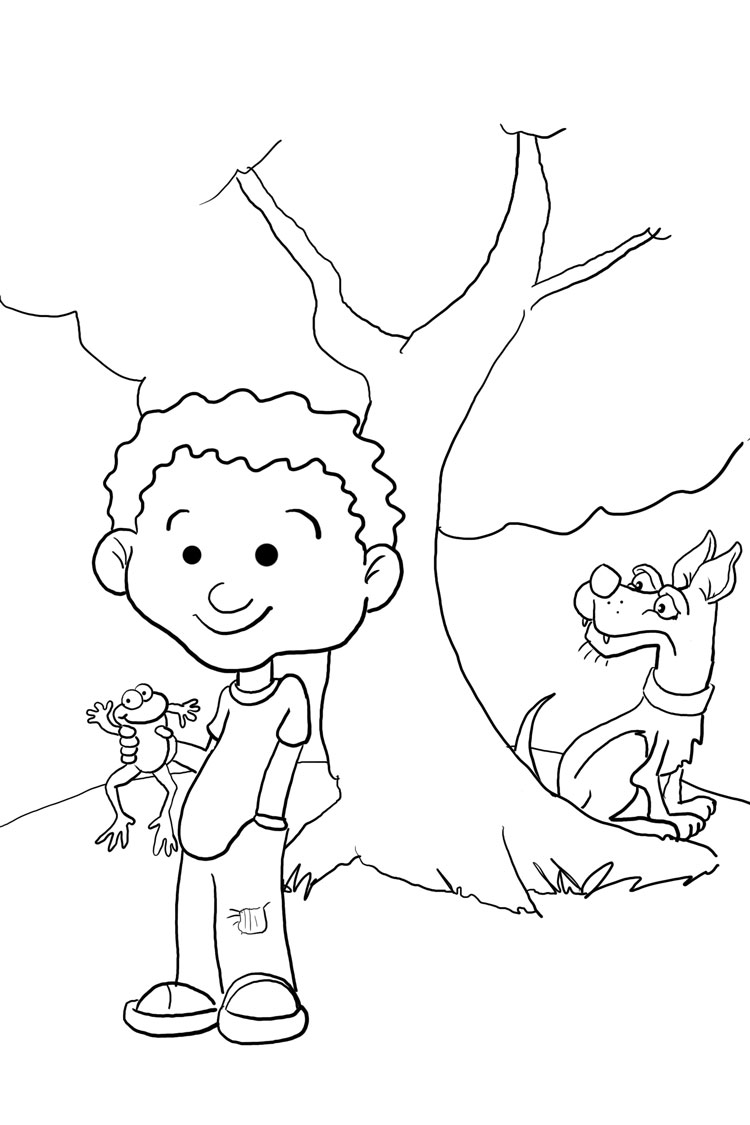click clack moo... coloring pages