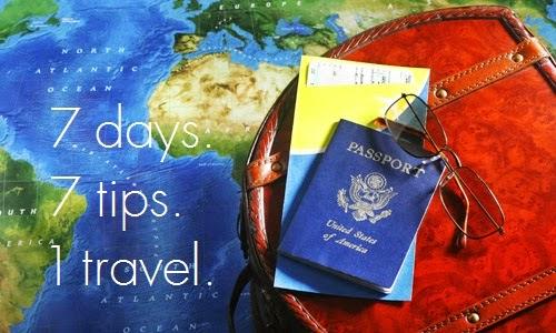 7 días para viajar. ¿Qué debo hacer?