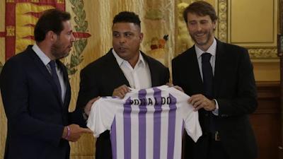 Ronaldo accionista Real Valladolid