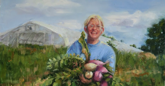 Whitewater Gardens farmer Sandy Dietz