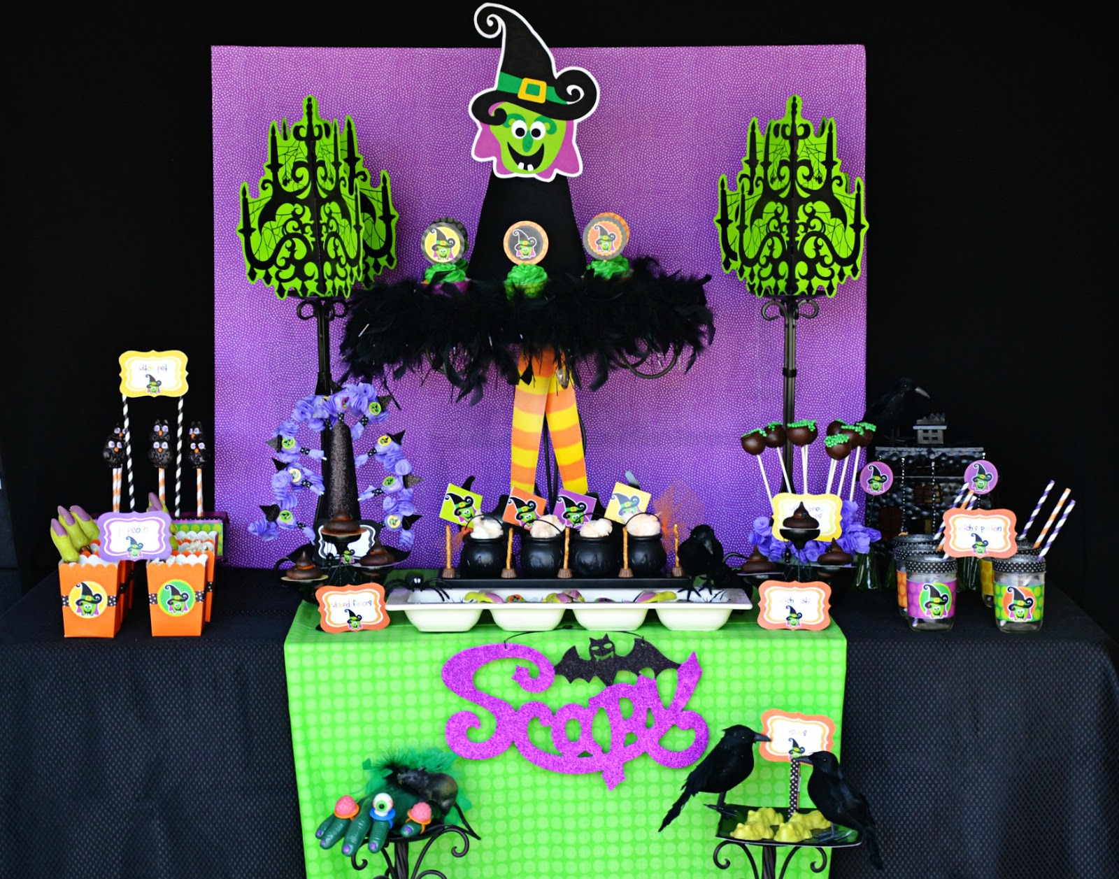 "Amanda's Parties To Go: Halloween ""Witch Is In"" Party"