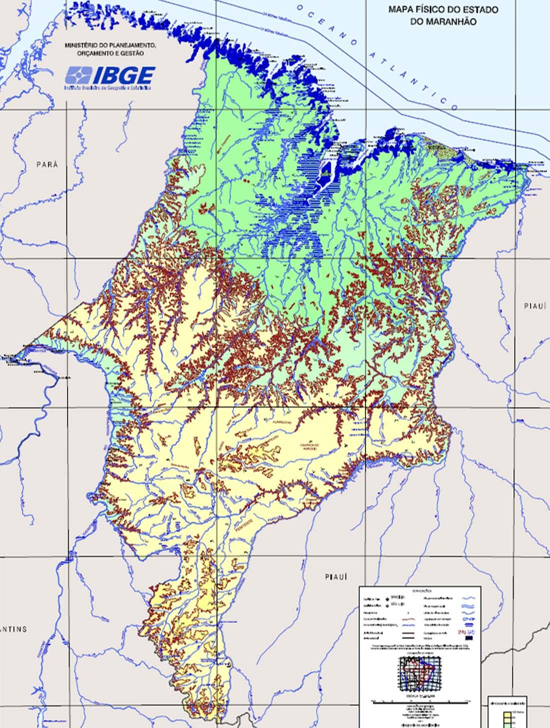 Mapas do Estado do Maranhão