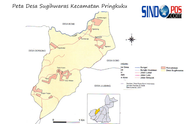 Profil Desa & Kelurahan, Desa Sugihwaras Kecamatan Pringkuku Kabupaten Pacitan