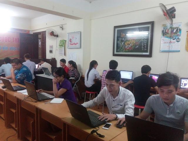 lớp học thiết kế web