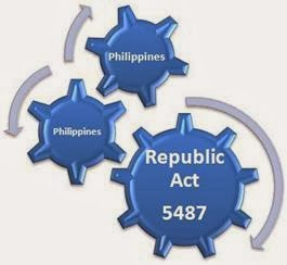 WHAT IS REPUBLIC ACT 5487?