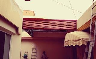مظلات داخل البيت