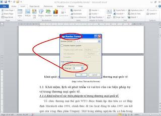 hướng dẫn cách đánh số trang trong word đơn giản nhanh nhất