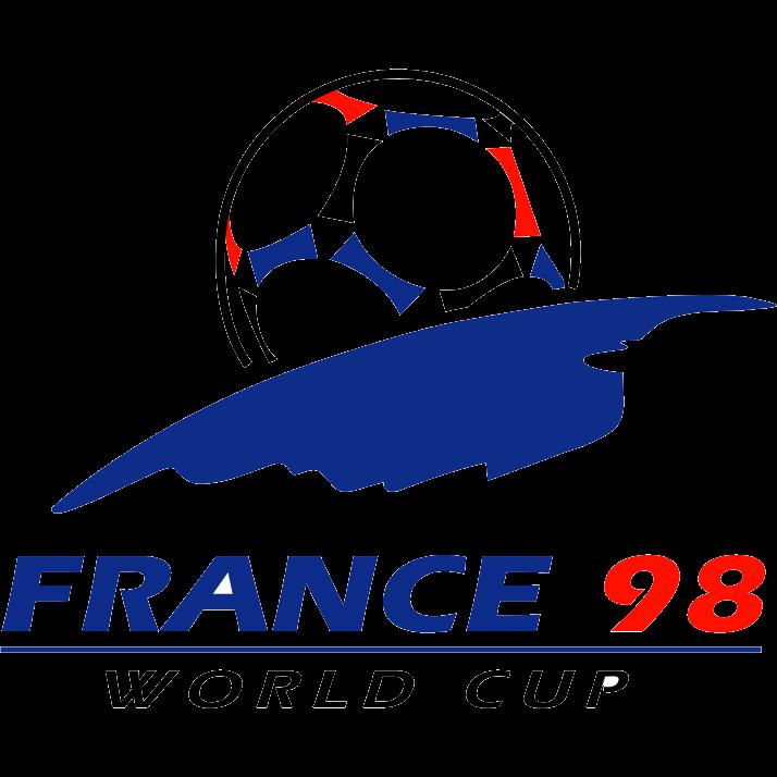 Logo Piala Dunia FIFA Tahun 1998 Prancis
