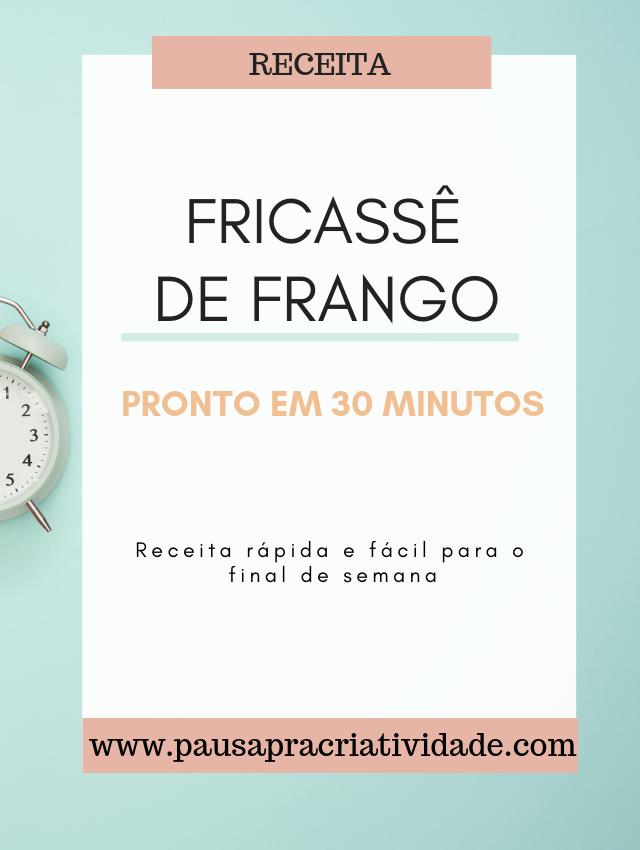 Receita Fricassê de Frango