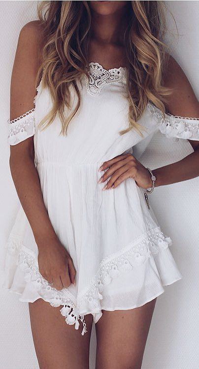 boho style obsession: white dress