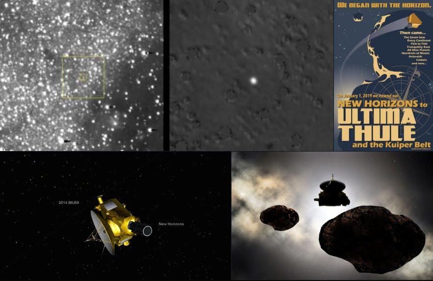 Buon Anno con la sonda spaziale New Horizons.