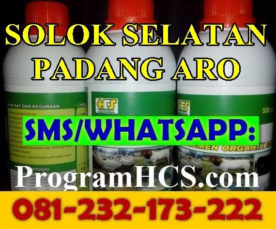 Jual SOC HCS Solok Selatan Padang Aro