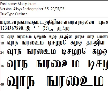 Download tamil font for photoshop