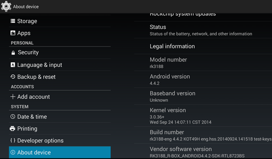 Photo Gallery: Android 4 4 2 stock firmware installed on