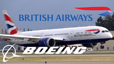 British Airways 787.