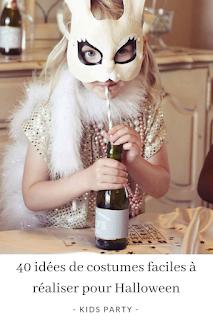 idées de costumes faciles à réaliser et pas chers pour Halloween blog mariage et jolies fêtes www.unjourmonprinceviendra26.com