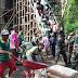 Koramil 08/Adipala Tumbuhkan Semangat Gotongroyong Warga Melalui Pengecoran Ponpes Raudlatul Huda