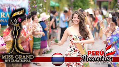 Actividades en la provincia de Samut Songkhram - Miss Grand International 2015