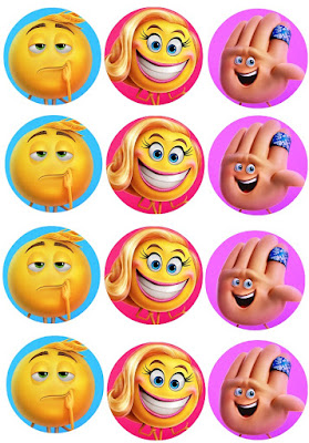 emoji movie party supplies