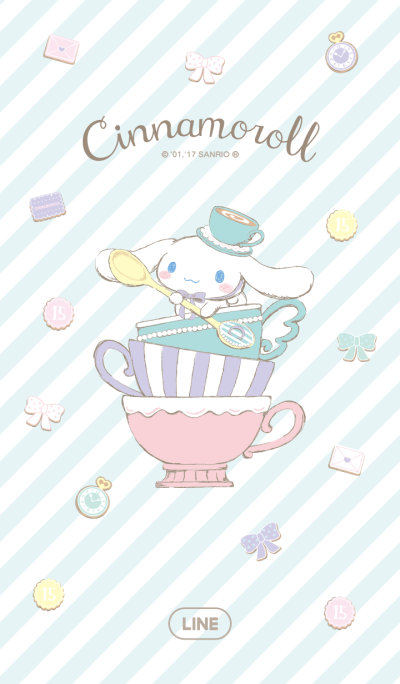 Cinnamoroll's Tea Party