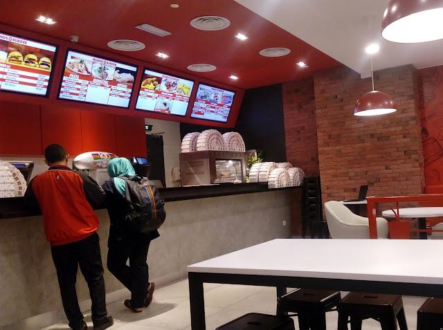 Friends of Burger, Sunway Putra Mall.
