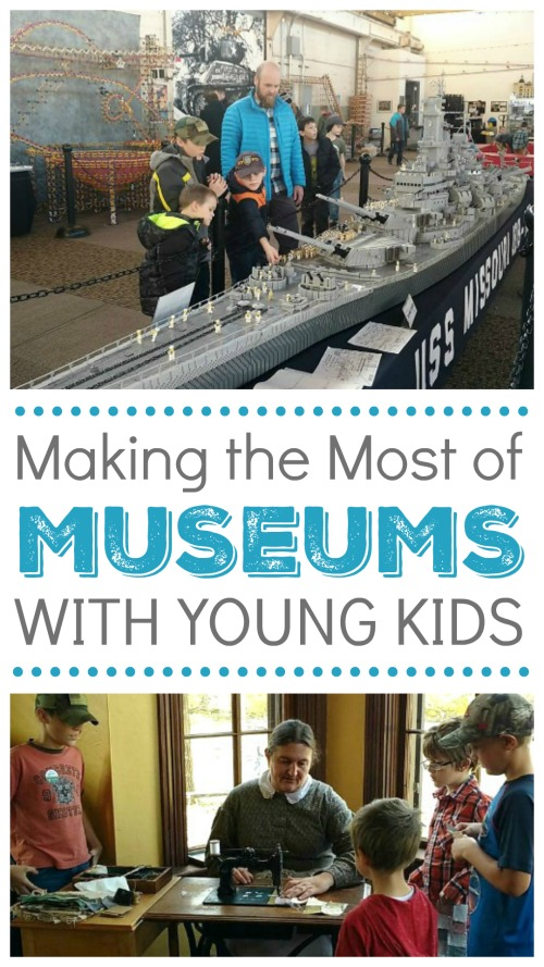 Making the Most of Museums for Young Kids