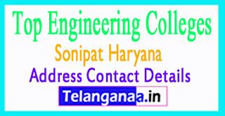 Top Engineering Colleges in Sonipat Haryana