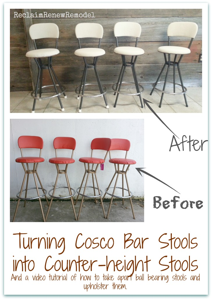 Amazing Reclaim Renew Remodel Furniture Friday Cosco Stools Machost Co Dining Chair Design Ideas Machostcouk