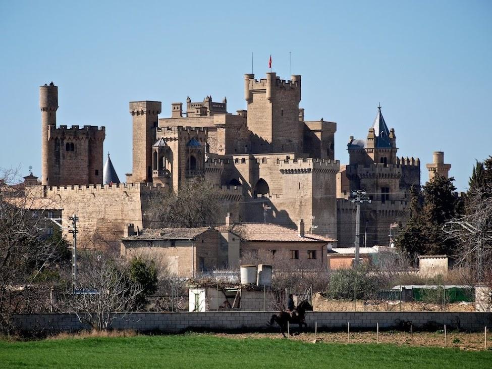 Castillo De Olite En Navarra Cosas 250 Nicas