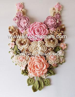 Jardim de Flores em Crochê