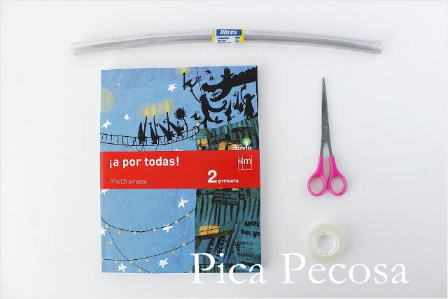 tutorial-forrar-libros-con-forro-plastico-cuatro-pasos-materiales