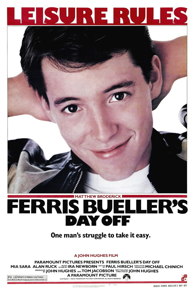 The New Age Nerd: Ferris Bueller Quotes........