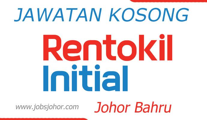 Jawatan Kosong Storekeeper Rentokil Initial Johor Bahru