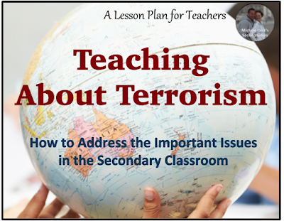 How to teach sensitively about terrorism and addressing the important current issues in the secondary classroom.