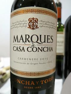 Concha Y Toro Marques de Casa Concha Carmenère 2015 (89 pts)