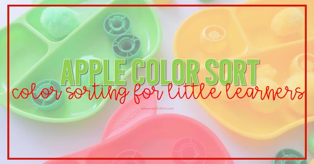 Apple Plate Color Sort