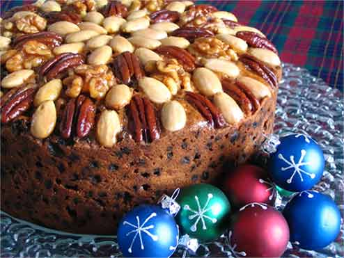 Paleo English Christmas Cake