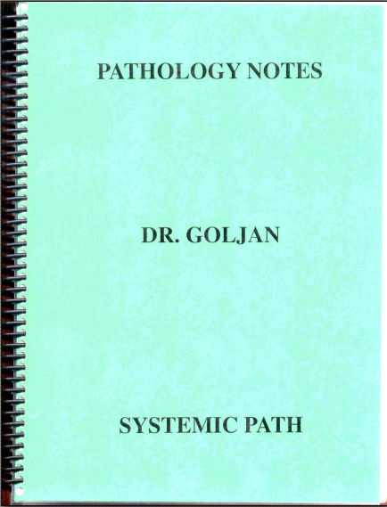 GOLJAN -  Systemic Pathology Notes [PDF]