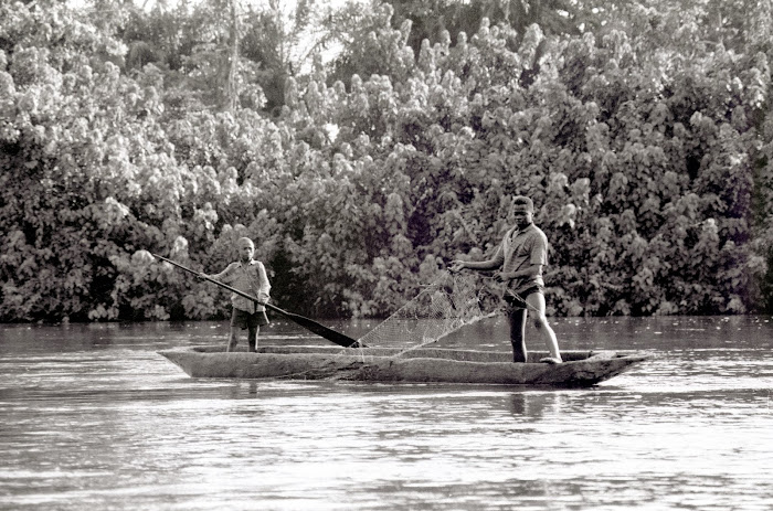 RDC, Zaïre, Lokutu, Bolila,© L. Gigout, 1991