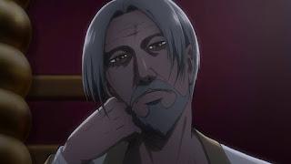 Król Fritz z anime Shingeki no Kyojin 3