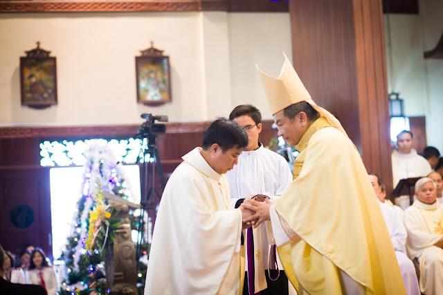 Lễ truyền chức Phó tế và Linh mục tại Giáo phận Lạng Sơn Cao Bằng 27.12.2017 - Ảnh minh hoạ 179