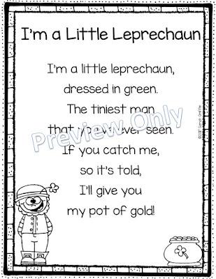 https://www.teacherspayteachers.com/Product/Im-a-Little-Leprechaun-Poem-for-Kids-St-Patricks-Day-3002251