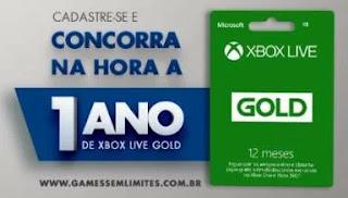 Cadastrar Promoção P&G 2019 Games Sem Limites Todos Dias 1 Ano Xbox Live Gold