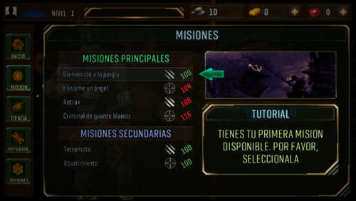 Combat battlefield: Black ops 3 Android 5.1.3 Full Español