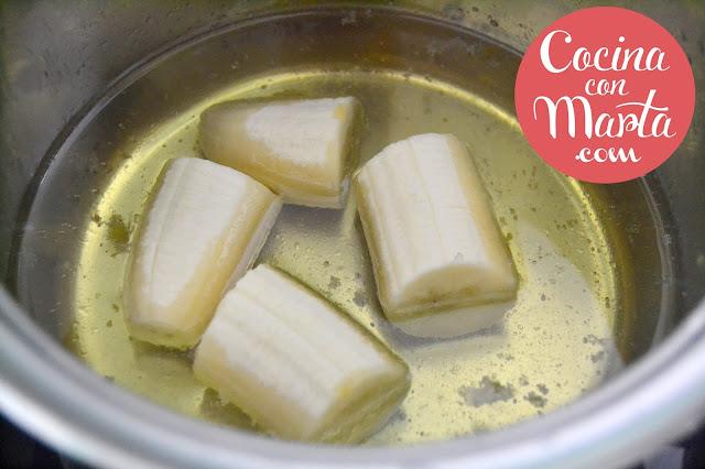 Arroz a la cubana, receta, original, arroz blanco, plátano, tomate, cocina con marta, fácil, rápido, recetas para niños, cenas para niños
