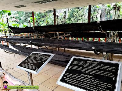 Perahu Sagor di Candi Lembah Bujang