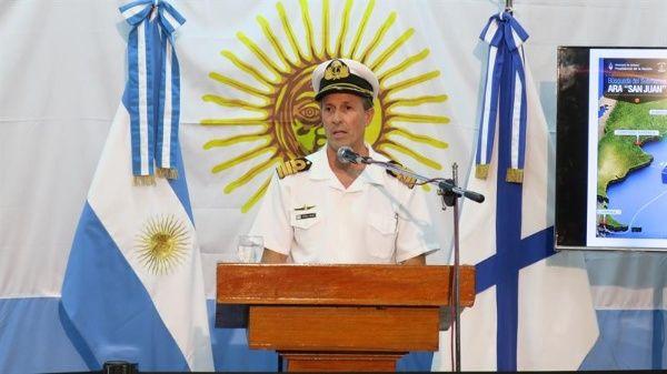 Detectan una falla previa en submarino argentino desaparecido